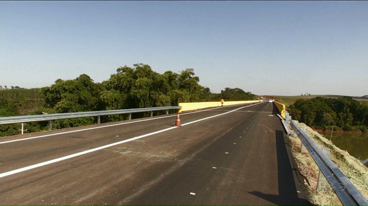 Ponte sobre a PR-323 terá operação Pare e Siga por dois dias