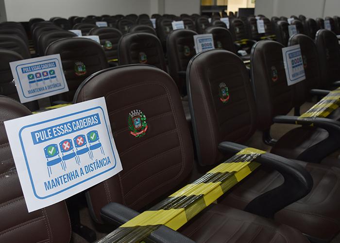 Câmara Municipal de Umuarama volta hoje e com liberação do acesso público às sessões.