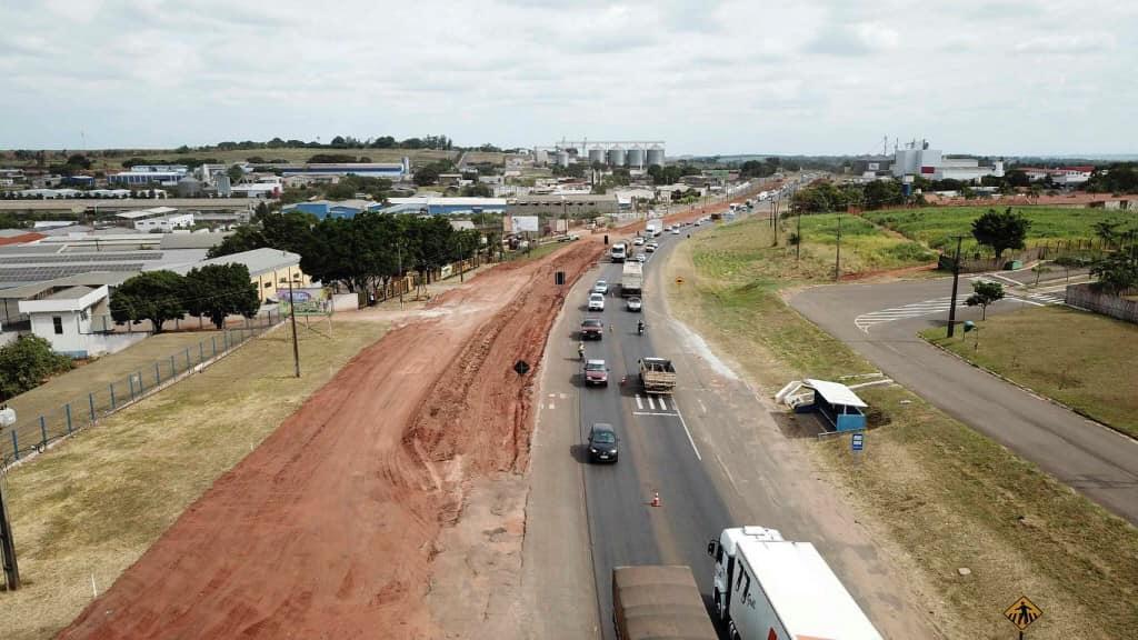 Moradores de Umuarama e região comemoram início da duplicação da PR-323