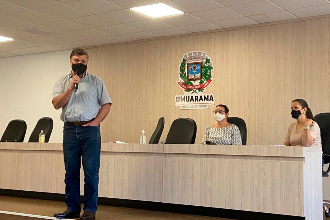 Prefeitura de Umuarama anuncia a criação de auxílio municipal de R$ 150 para famílias carentes