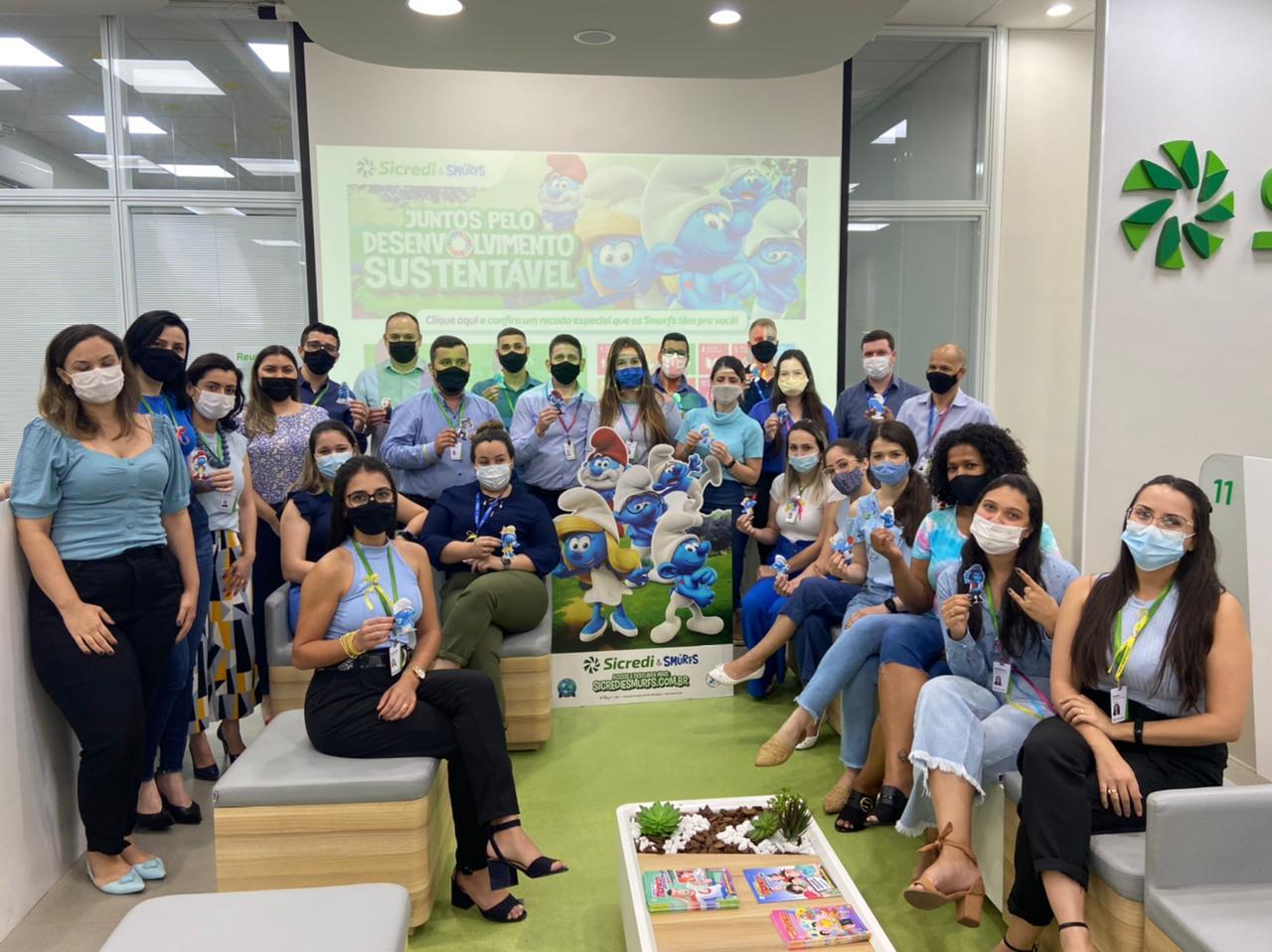 Sicredi e Smurfs se unem para promoção dos Objetivos de Desenvolvimento Sustentável