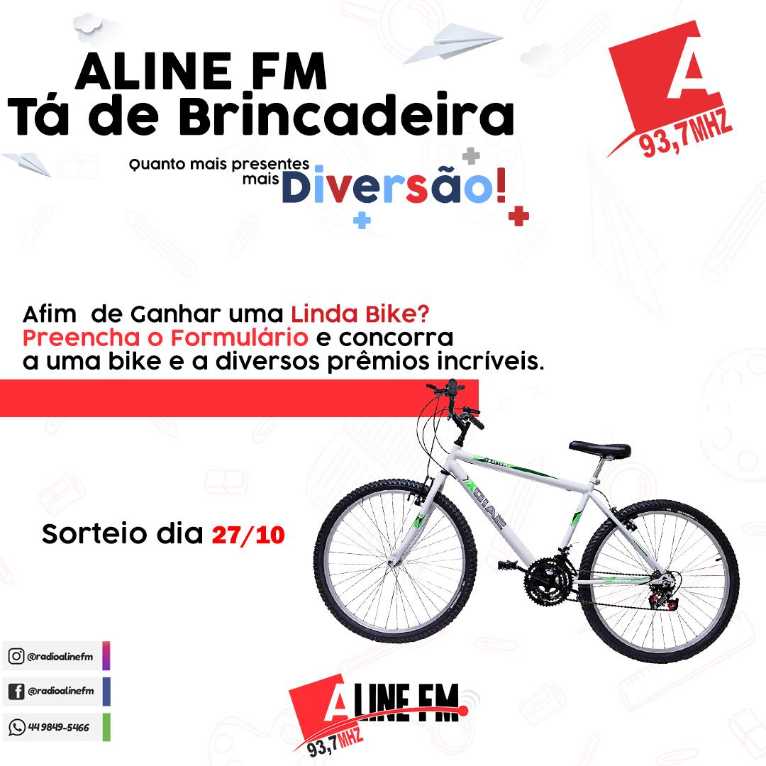 Aline FM Tá de Brincadeira